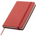 Блокнот з резинкою (в кольорі), к-р червоний