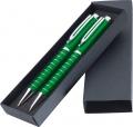 Набір із двох ручок у футлярі к-р зелений