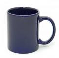 Горнятко К001 керамічне к-р темно-синій