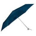 Складна парасоля в пластиковому футлярі к-р темно-синій