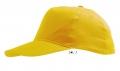 Бейсболка Sunny к-р жовтий