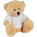 М'яка іграшка ведмедик молодший в комплекті з футболкою к-р крем