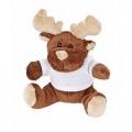 М'яка іграшка олень в комплекті з футболкою к-р коричневий